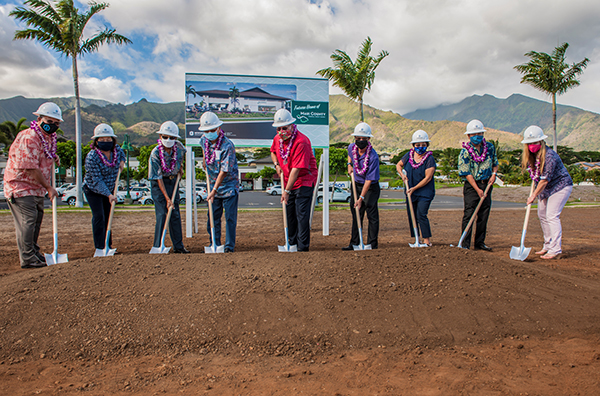 maui county groundbreaking